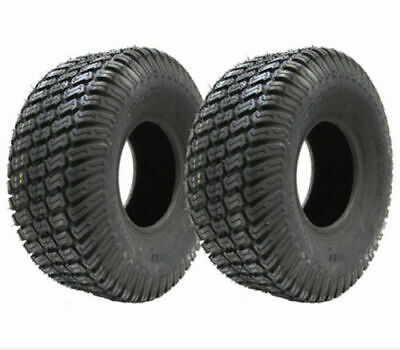 15x6.00-6 tyres for grass mower 4ply turf - lawnmower tyre, Wanda P332, set of 2