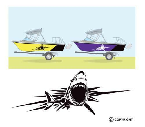 3 jpg set id 2 for Fishing boat decals