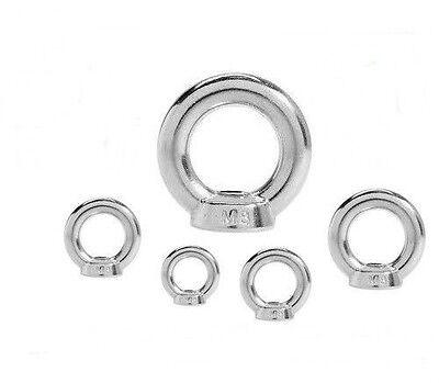 1 Stk. Ringmutter DIN 582 12 mm M12 Edelstahl Zurröse - Transportöse - Augmutter