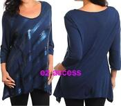 Womens Plus Size Tunic 3X