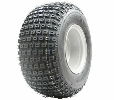 18x9.50-8 knobby tyre on four stud rim - ATV trailer - quad wheel 18 9.50 8