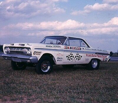 Dyno Don 1964 Comet 1/25th scale model car decal