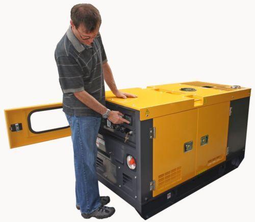 Quiet Diesel Generator Ebay
