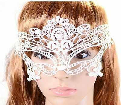 Female Halloween Costume Pics (3 pics Sexy Lace Eye Face Mask Masquerade Ball Prom Halloween Costume)