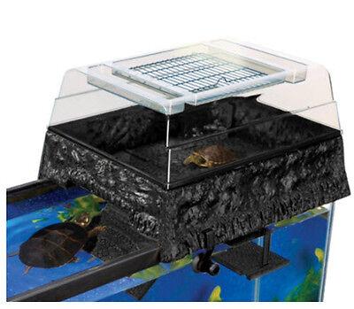 Penn Plax Reptology Life Science Turtle-Topper Above-Tank Basking Platform
