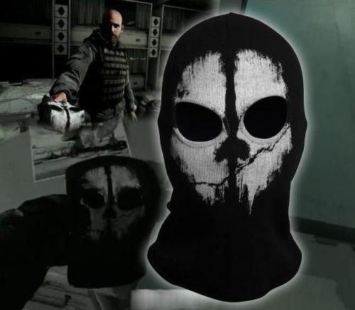 Call Of Duty 10 Cod Ghosts Logan Balaclava Ski Skull Hood: Skull Mask