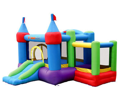 Inflatable Bounce House Outdoor Birthday Party Jump Kids Child Play Explore Fun