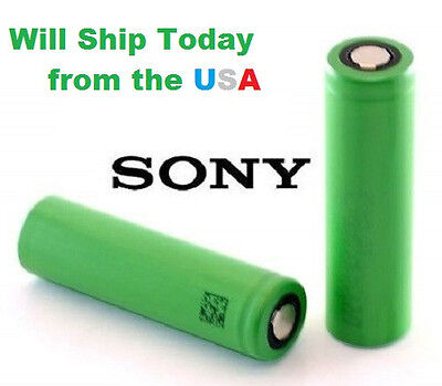 TWO Sony 18650 VTC4 HIGH DRAIN IMR Li-on 2100mAh 30A MOD Battery * IN STOCK!! on Rummage