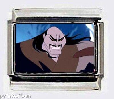 DISNEY Villain Shan Yu of Mulan 9mm Italian Photo Charms for link style Bracelet - Mulan Villain