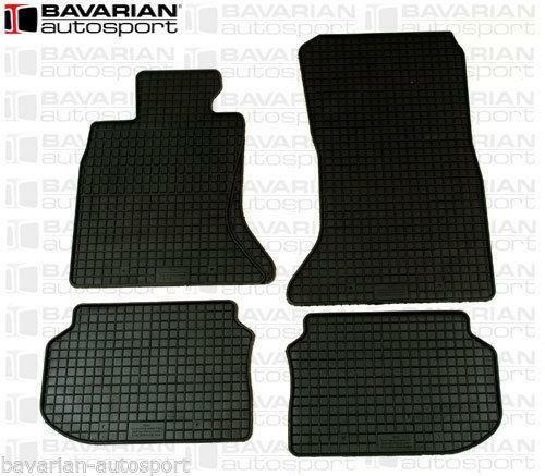 BMW 328i Rubber Floor Mats