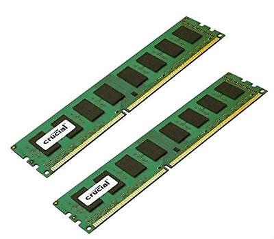 Crucial 8GB Kit 2x 4GB DDR3 1600MHz PC3-12800 240 Pin Desktop Memory RAM 1600 8G