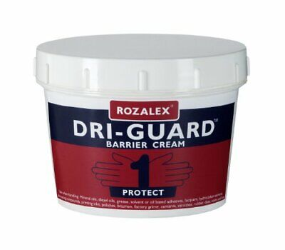 Rozalex Dri-Guard Original Protection Barrier Cream Tub 450 (Guard Barrier Cream)