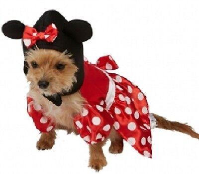 Haustier Hund Katze Disney Minnie Maus Halloween Weihnachten Kostüm ()