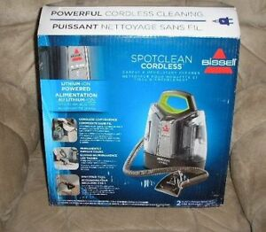 NEW Bissell Spot Clean Cordless Portable Carpet Upholstery 1570C