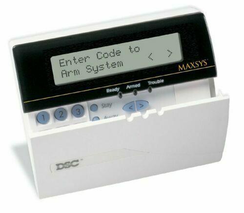 DSC MAXSYS Programmable Message LCD Keypad LCD-4501