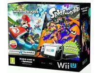 Wii U Premium Edition 32GB Boxed with 16 Top Rated Games, extra controllers and case