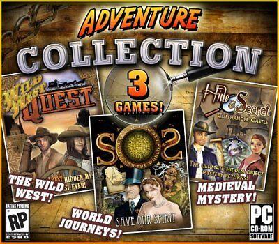 Computer Games - Hidden Object Adventure Collection PC Games Windows 10 8 7 XP Computer seek find