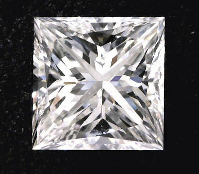 1.02 carat Princess cut Diamond GIA H color VS1 clarity no fl. Excellent loose