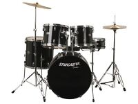 Nearly New Starcaster Fender Drum Kit