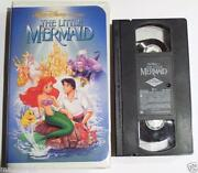 Disney Little Mermaid VHS