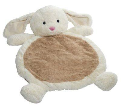 Mary Meyer Bestever Baby Mat, Cream Bunny, New, Free