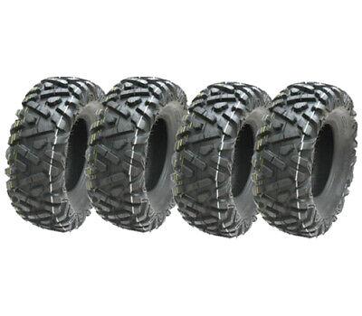 26x11.00-12 & 26x9.00-12 ATV tyres 6ply 7psi E marked road legal quad tyres P350
