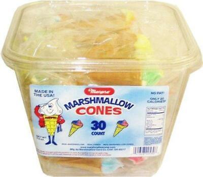 Yum Yum Marshmallow Cones 30ct