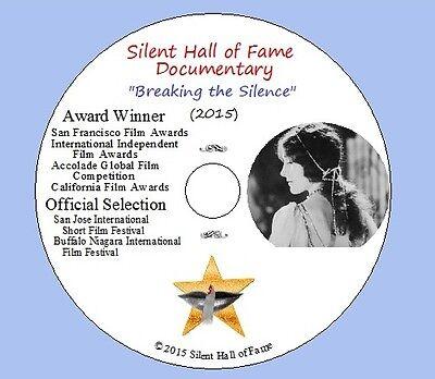 Dvd Silent Hall Of Fame Documentary  2015    Winner Of Multiple Festival Awards