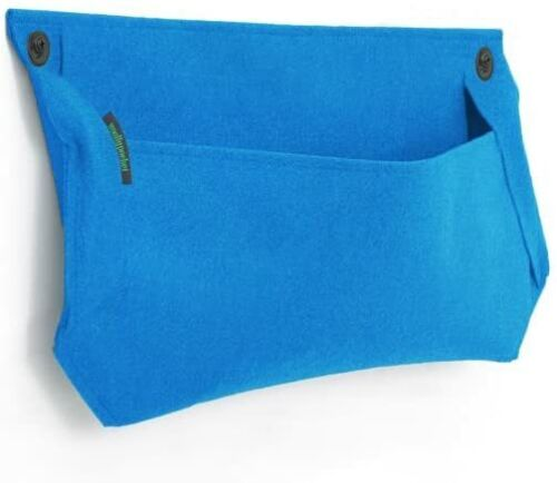 Woollypocket Wall Planter - 2 Pack - 24x15 - Blue