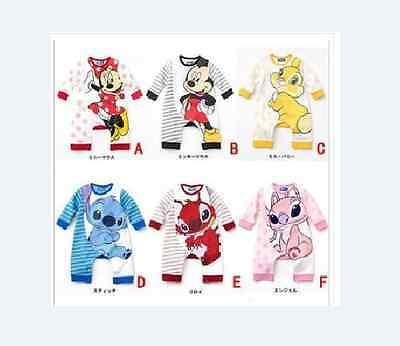 Kostüme Film Zeichen (Baby Kleinkind Disney-zeichentrickfilm Kostüm Spielanzug Größe 0-24 Monate)