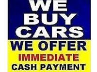 WE BUY ANY CAR CAN COLLECT TODAY ££££ CASH PAID ON COLLECTION