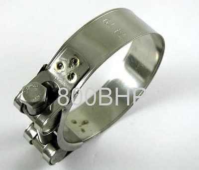 Edelstahl Hochleistungs- Schlauch Klemme 74-79mm Silicon, T-Bolzen Klammer