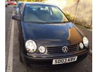 VW polo spares and repair