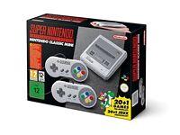Super Nintendo classic mini console brand new