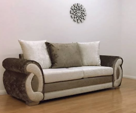 FABRIC/CRUSH VELVET CHEAPEST PRICE*CLIO SOFA* LUXURY SOFA 3+2/Corner sofa 1845