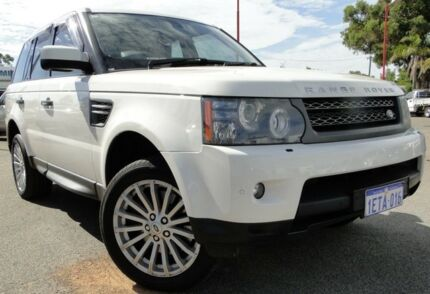 2009 Land Rover Range Rover Sport L320 10MY TDV6 White 6 Speed Sports Automatic Wagon Bellevue Swan Area Preview