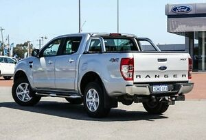 2014 Ford Ranger Silver Sports Automatic Utility Maddington Gosnells Area Preview