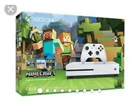Xbox one 'S' in white