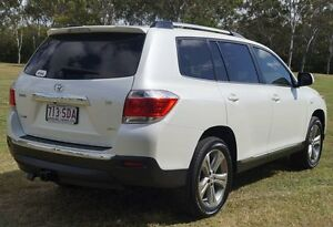 2012 Toyota Kluger GSU45R MY12 KX-S AWD White 5 Speed Sports Automatic Wagon Bundaberg Central Bundaberg City Preview