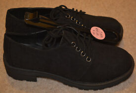 BNWT Atmosphere beautiful black Shoes Size 7/40 new