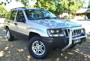 2005 Jeep Grand Cherokee WG MY2004 Laredo Silver 5 Speed Automatic Wagon Cumberland Park Mitcham Area Preview