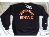 Edinburgh - Vintage Cincinnati Bengals Starter Sweatshirt L New With Tags! NFL 1980s Era
