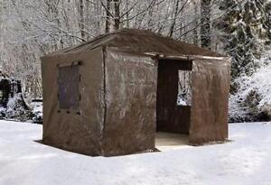 Toiles Hivernales pour Gazebo 10x10, 10x12, 10x14, 12x16 - Boîtes Ouvertes et Ré-Emballées, Toiles intactes