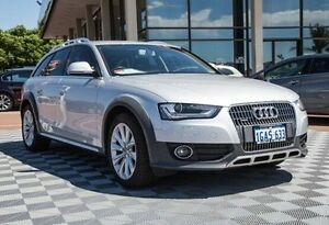 2012 Audi A4 B8 8K MY13 allroad S tronic quattro Silver 7 Speed Sports Automatic Dual Clutch Wagon Alfred Cove Melville Area Preview