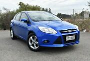 2012 Ford Focus LW Trend PwrShift Blue 6 Speed Sports Automatic Dual Clutch Hatchback Ingle Farm Salisbury Area Preview