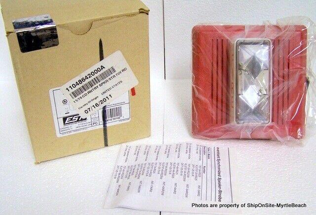 Edwards EST 757-7A-RS70 Speaker/Strobe NIB **Free S&H**