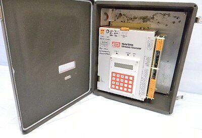 Panametrics Gp68 Ultrasonic Flow Meter In Enclosure