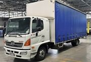 2013 Hino 500 FD7J FD1124 XLWB White Cab Chassis 6.4l 4x2 Rocklea Brisbane South West Preview