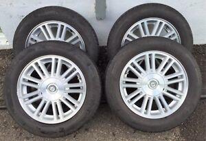 4 mags 17'' et pneus Pirelli à vendre
