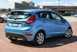 2010 Ford Fiesta Blue Manual Hatchback Maddington Gosnells Area Preview